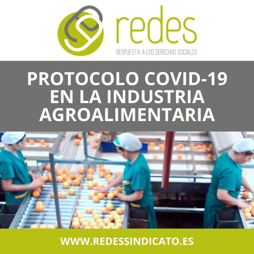 Protocolos COVID en la industria agroalimentaria