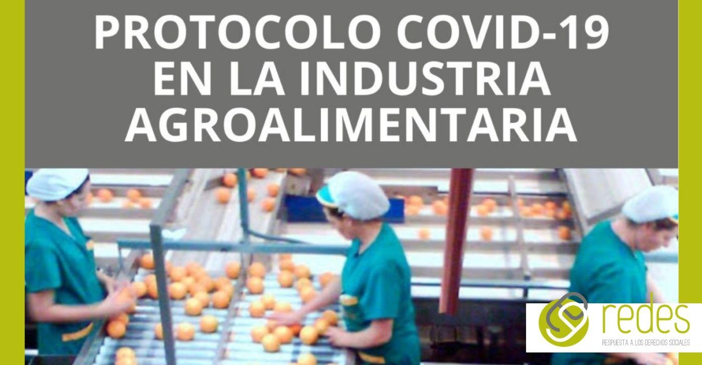 protocolos covid-19 en la industria agroalimentaria